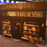 freestanding point of sale sainsbury