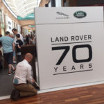 POINT OF SALE POS LAND ROVER