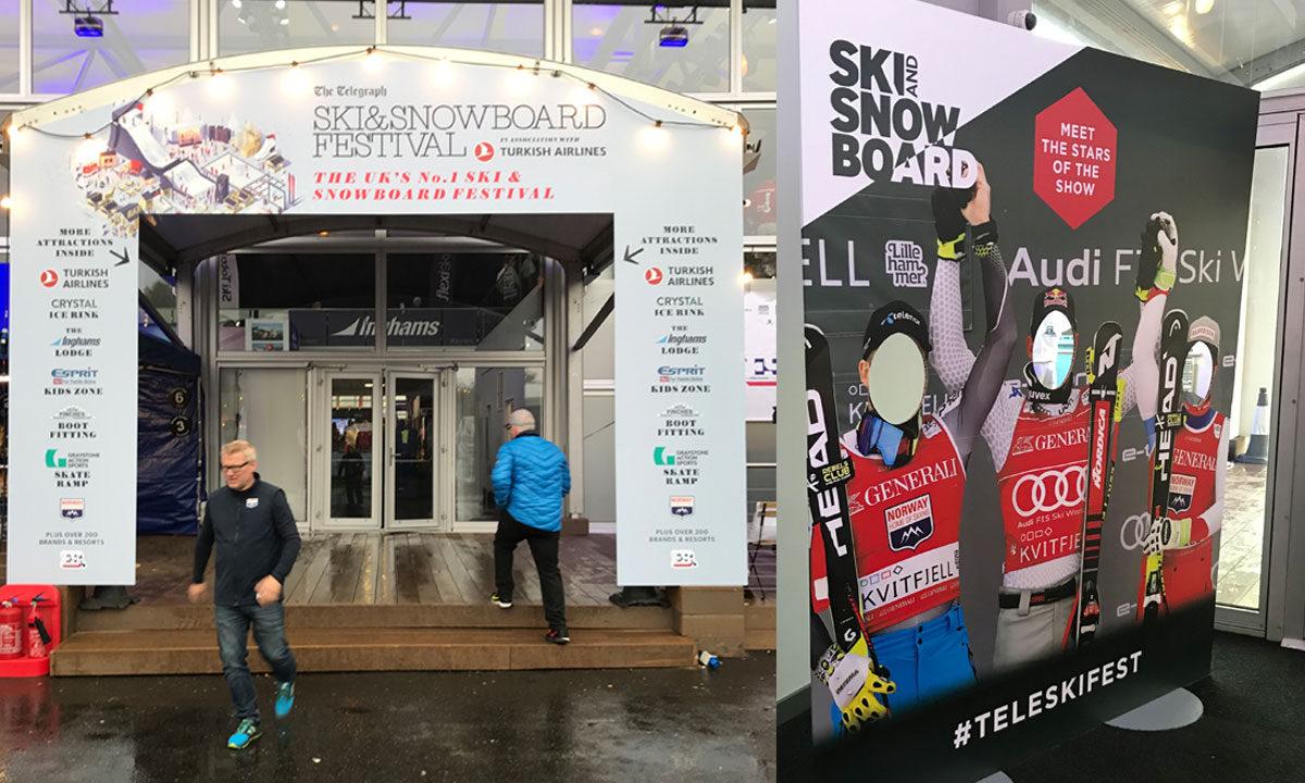 Telegraph ski and snowboard festival battersea